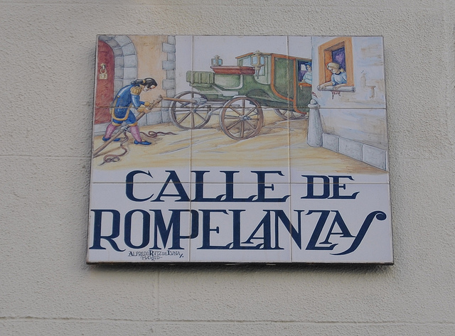 Calles raras del centro de Madrid