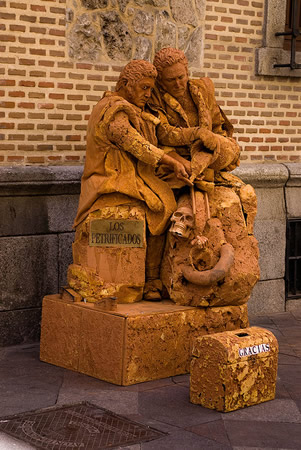 Estatua humana Los Petrificados